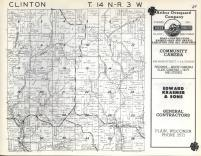 Clinton T14N-R3W, Vernon County 1960